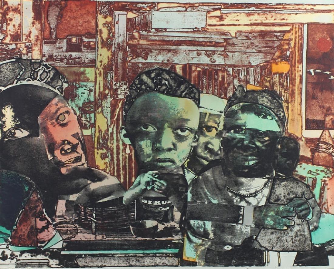 Romare Bearden (1911-1988) African American