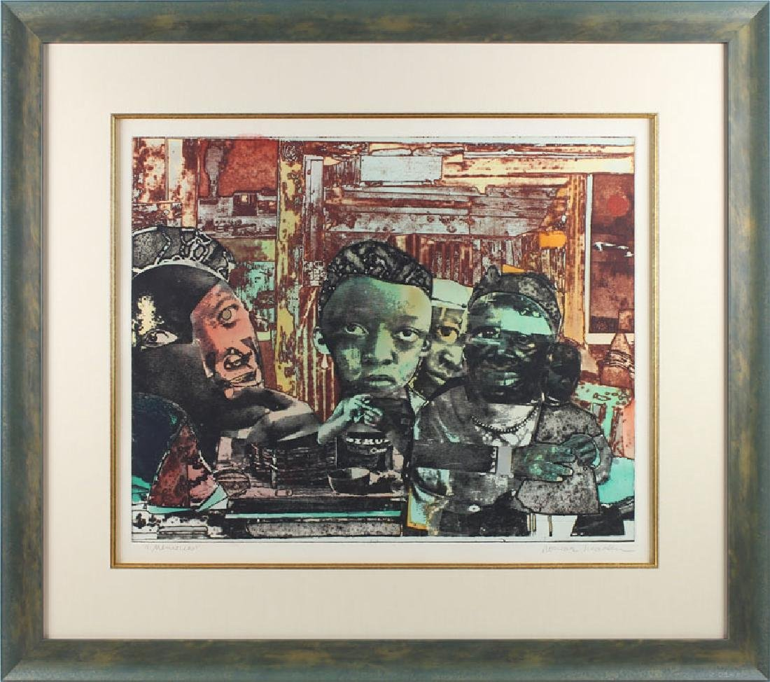 Romare Bearden (1911-1988) African American - 2