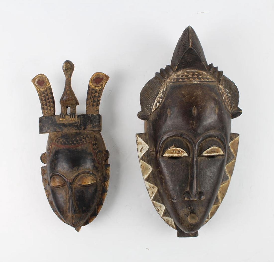 Ethnic Art: African Masks (two)