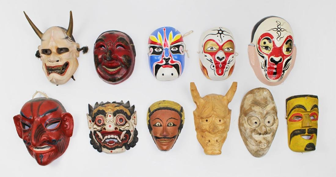 Ethnic Art: Mask Collections (eleven)
