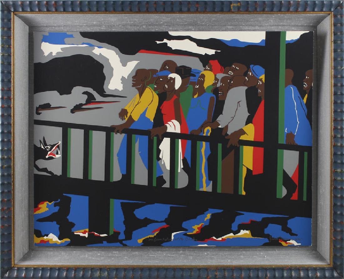 Jacob Lawrence (1917-2000) African American - 2