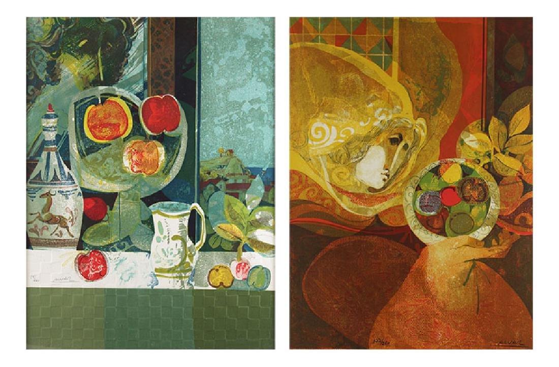 Sunol Alvar (b. 1935) Spanish (two)