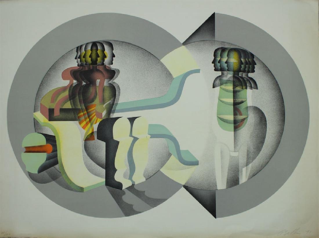 Arnold Belkin (1930-1992) Canada/Mexico