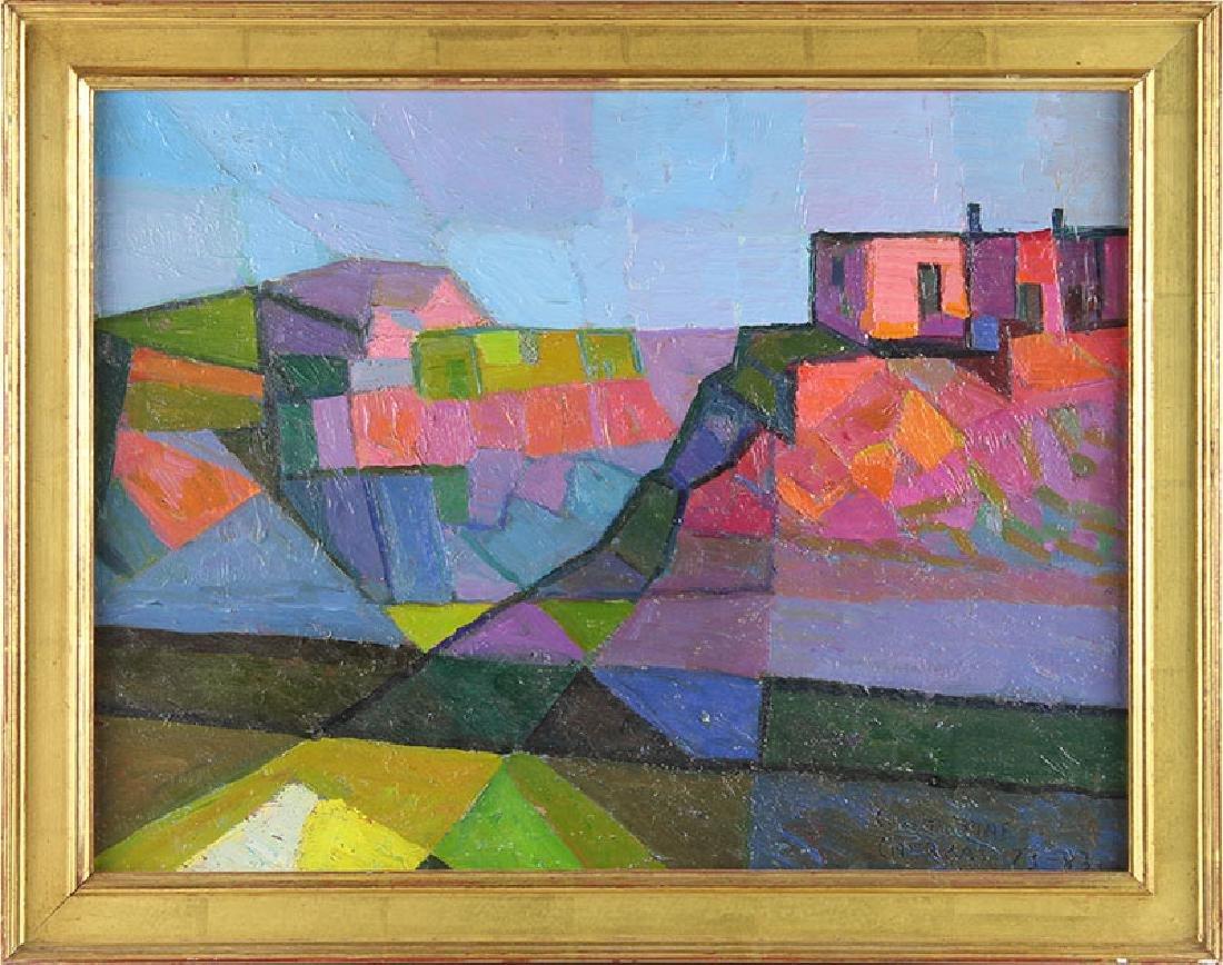Constantine Cherkas (1919-2011) Russian/ Californian
