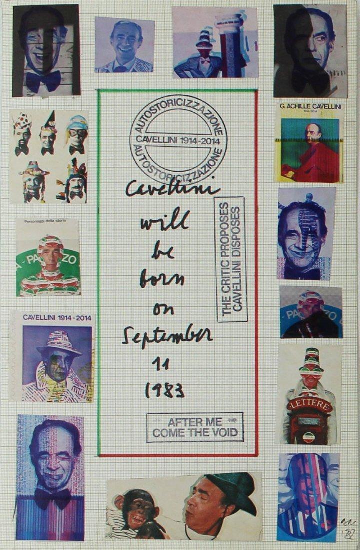 Mail Art by Achille Guglielmi Cavellini (1914-1990) - 2