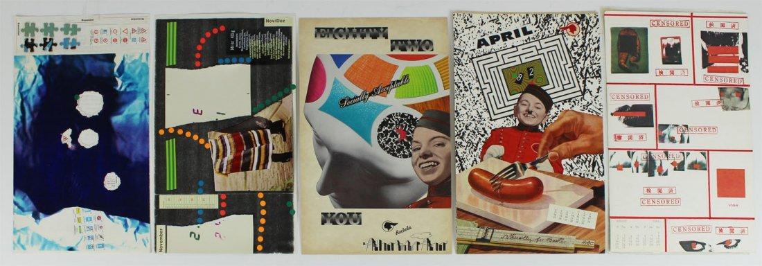 Mail Art by Jurgen Olbrich, Robert Rockola, & Yoshy