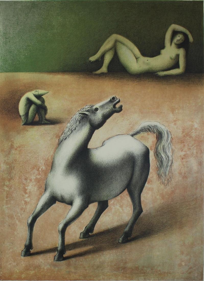 Marc Aleu (1922-1996) Spanish