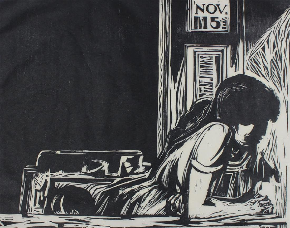 Artist Rafael Tufiño Figuer (1922-2008) Puerto Rican
