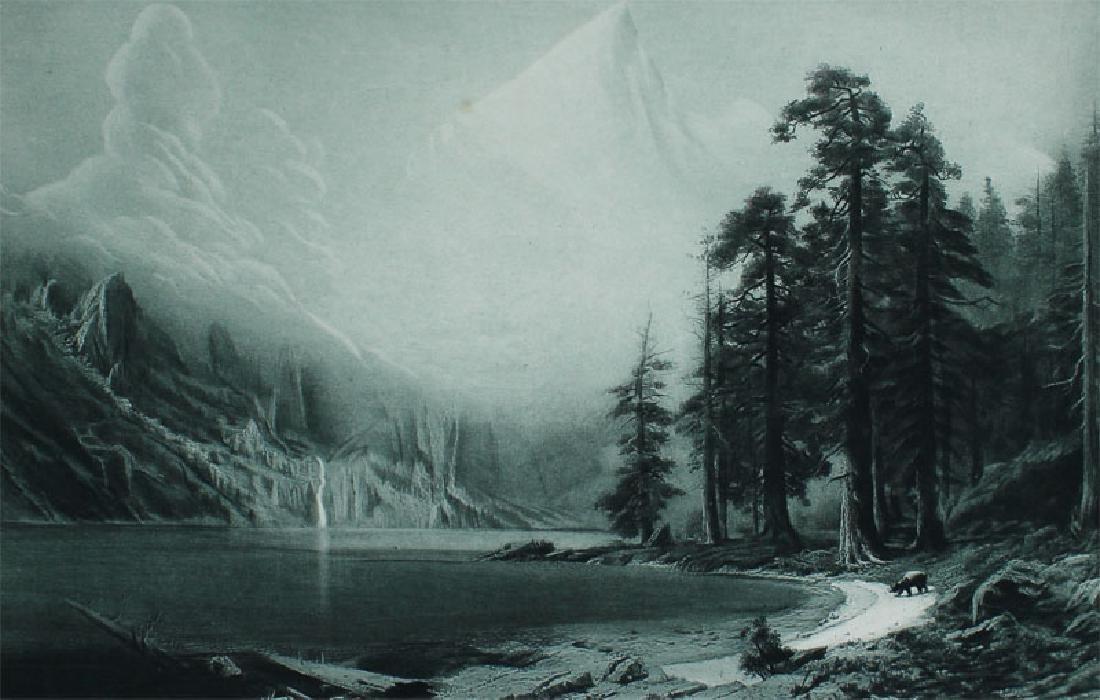 after Albert Bierstadt (1830-1902) Germany/ New York