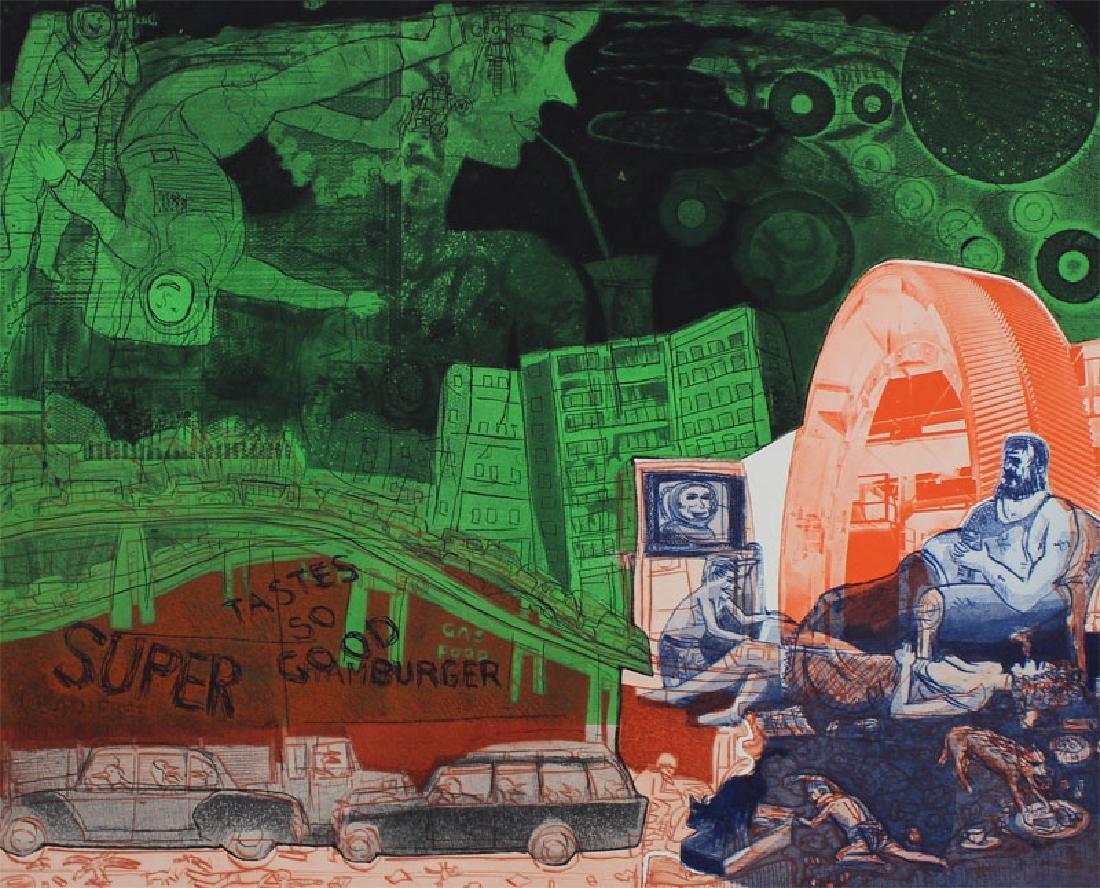 Warrington Colescott (b. 1921) American