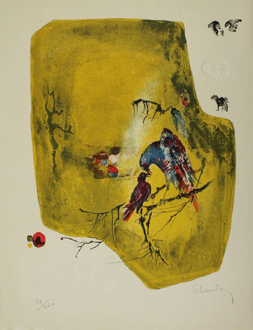 Lebadang (1922-2015) Vietnamese/French