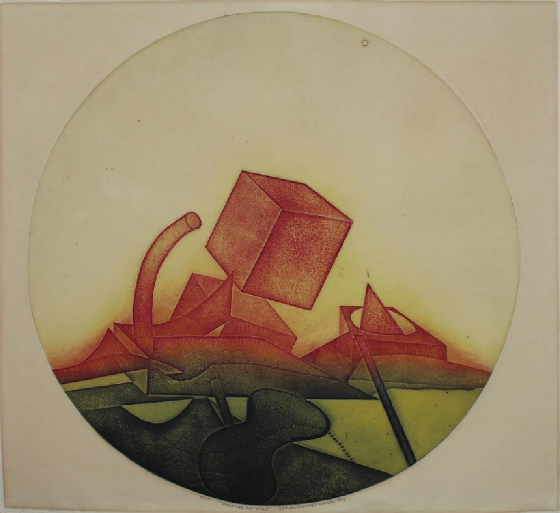 Sergio Gonzalez Tornero (b. 1927) Chilean