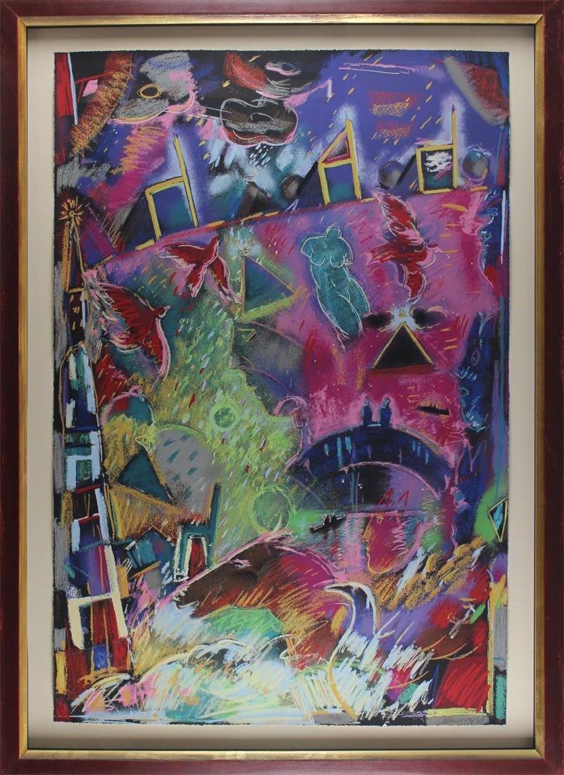 Carlos Almaraz (1941-1989) Mexican/ Californian - 2
