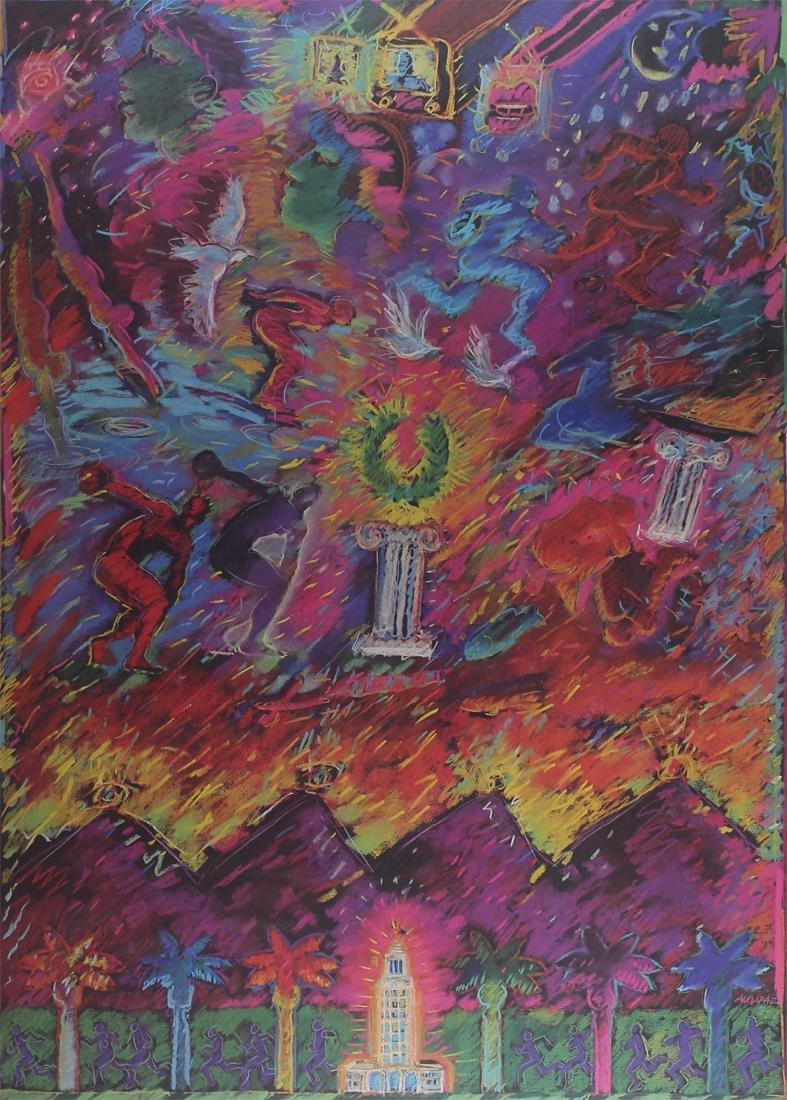 Carlos Almaraz (1941-1989) Mexican/ Californian