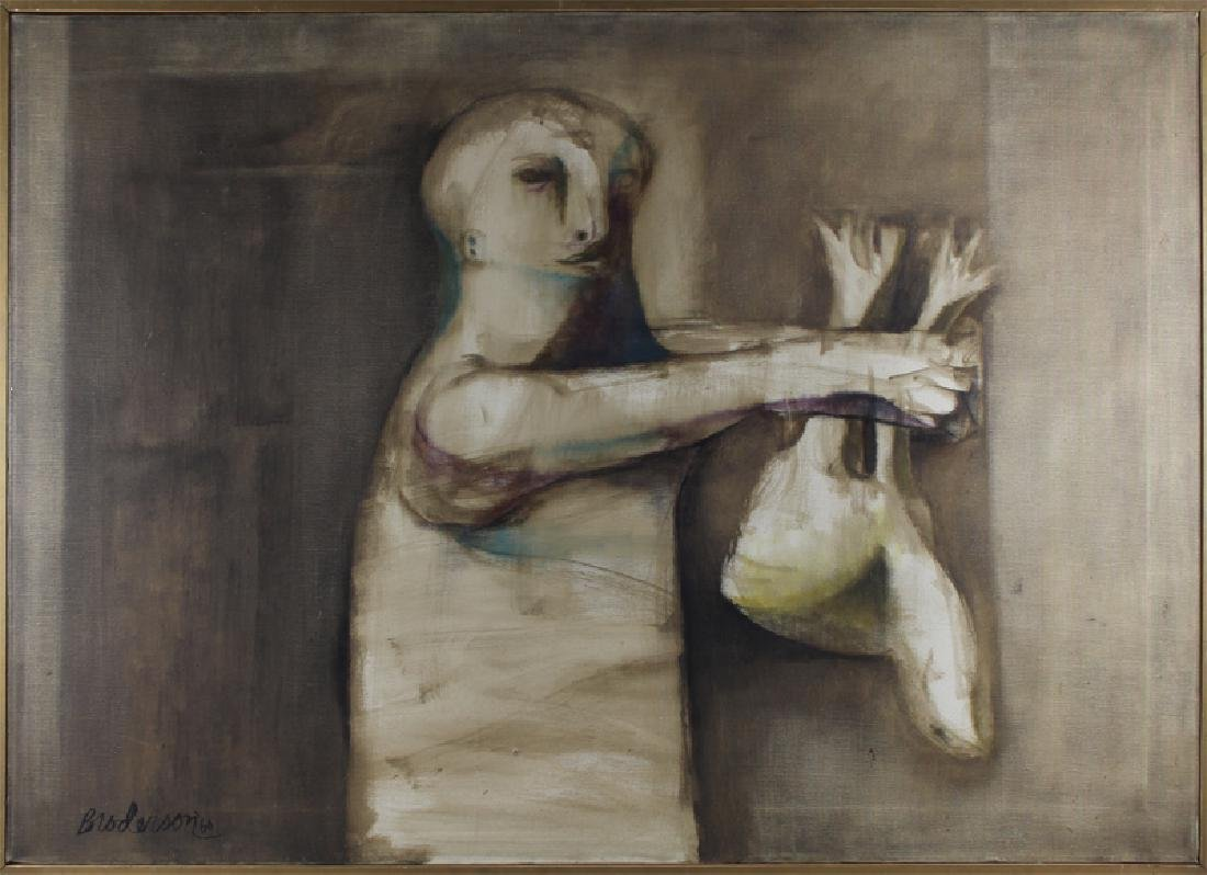 Morris Broderson (b. 1928) Californian