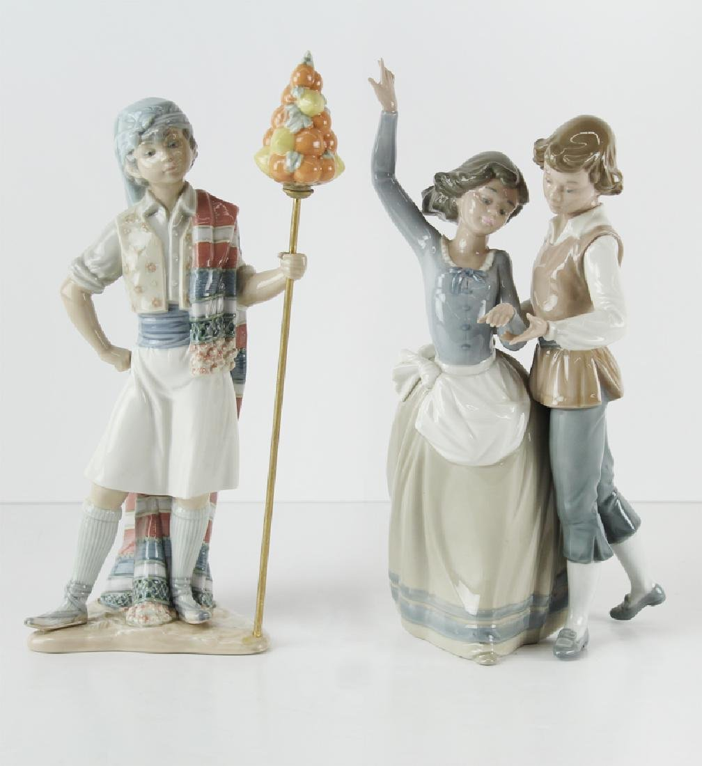 Decorative Arts: Lladro Porcelain (two)