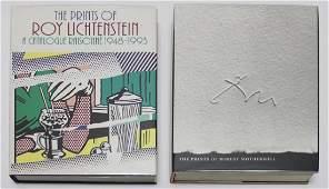 Art Books Lichtenstein  Motherwell four