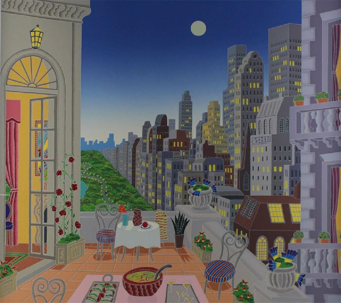 Thomas McKnight (b. 1941) New York