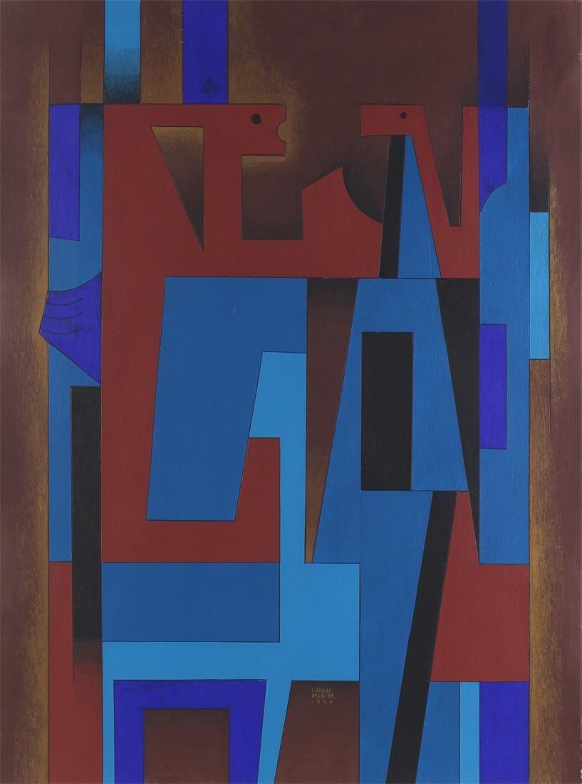 attributed to Carlos Merida (1891-1984) Guatemalan