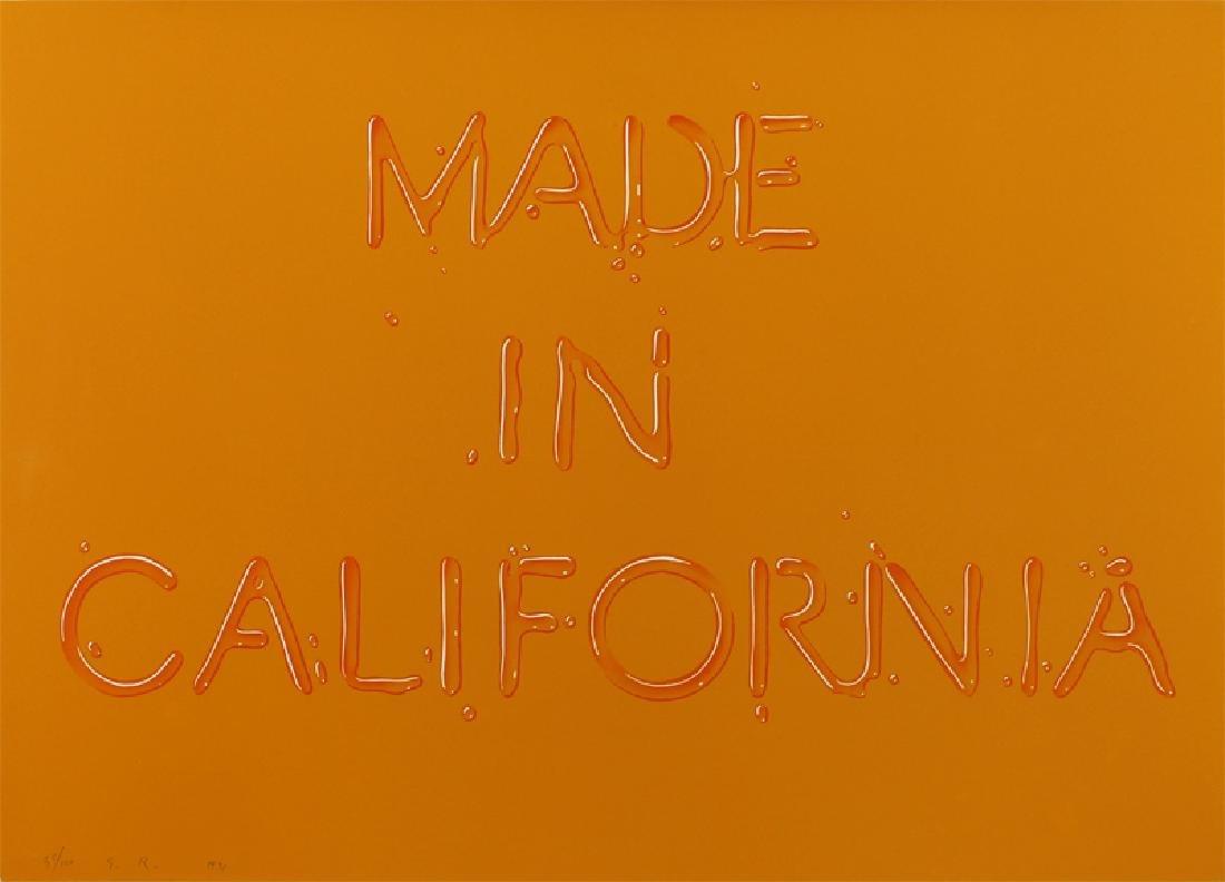 Ed Ruscha (b. 1937) Californian