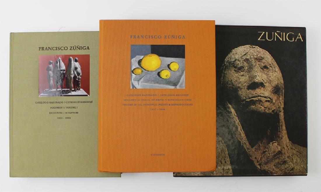 Francisco Zuniga books (three)