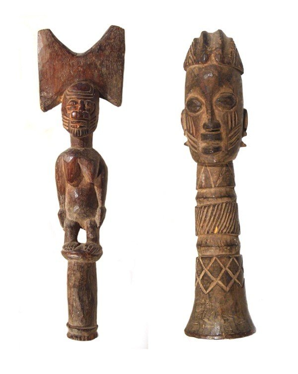 17: African Sculpture (two)