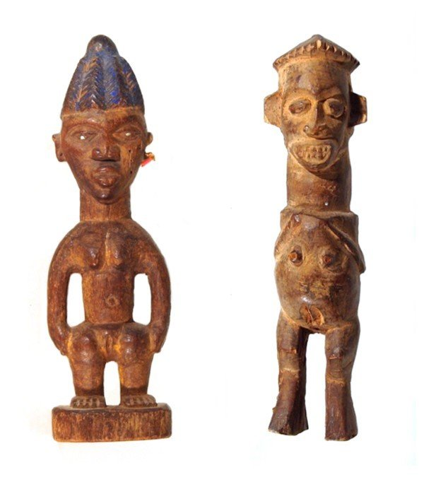 19: African Sculpture (two)