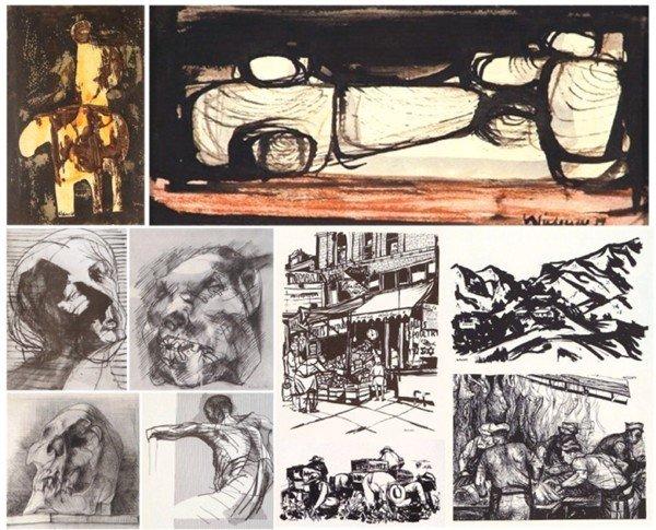 304: Herbert Siebner (b. 1925) Canadian (five)
