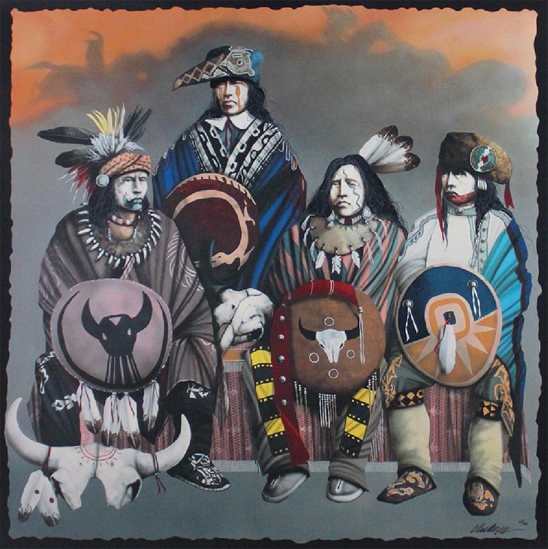 J. D. Challenger (b. 1951) Native American/Oklahoma