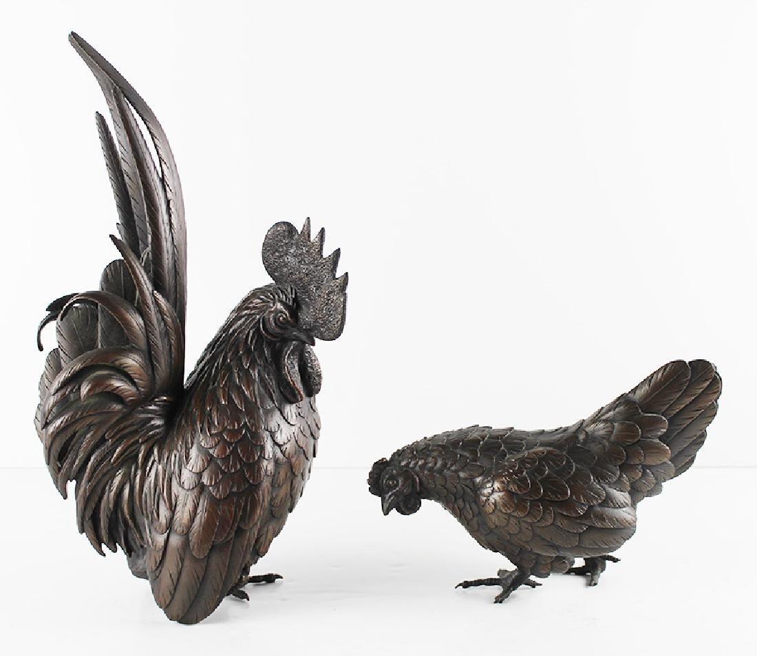Decorative Bronzes (two)
