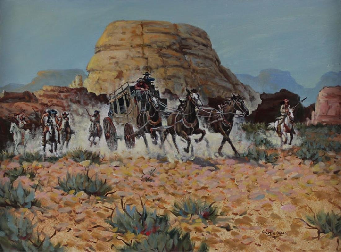 Austin Deuel (b. 1939) Arizona