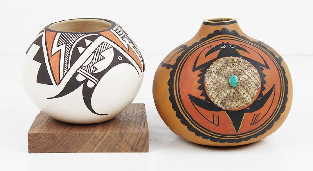 Isleta Pottery by Stella Teller & Robert Rivera, Santa