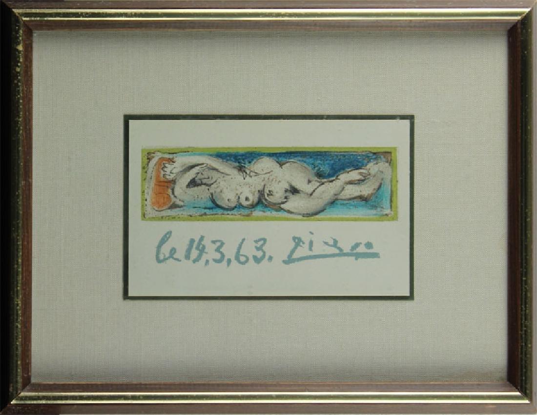 Salvador Dali & Pablo Picasso (two) - 5