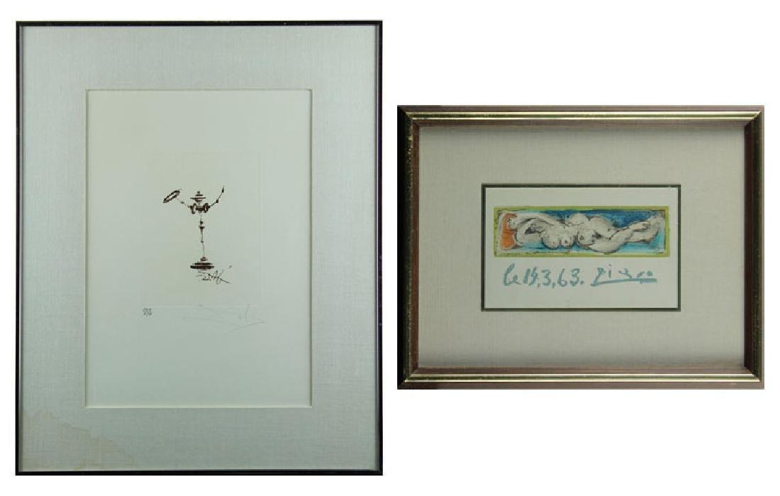 Salvador Dali & Pablo Picasso (two) - 6