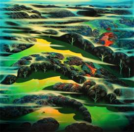 Eyvind Earle (1916-2000) Californian