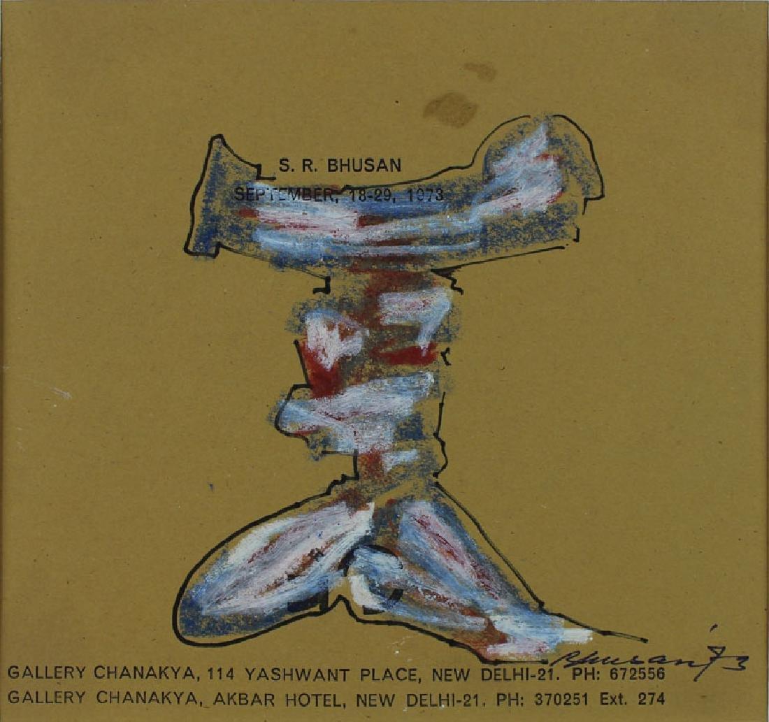 Modern Indian Art: Satish Gujral, Amitava Das, Velu - 7