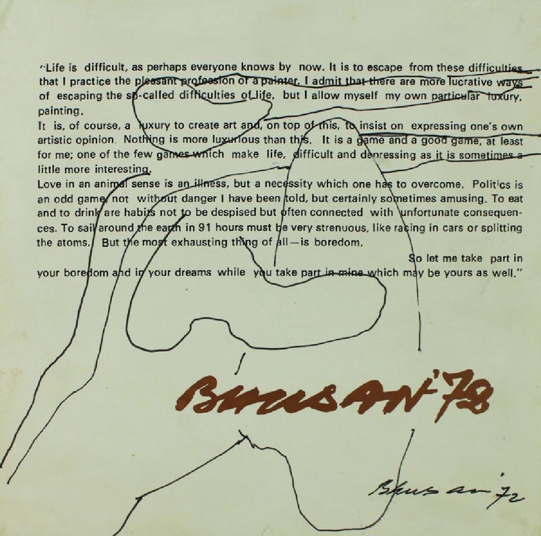 Modern Indian Art: Satish Gujral, Amitava Das, Velu - 9