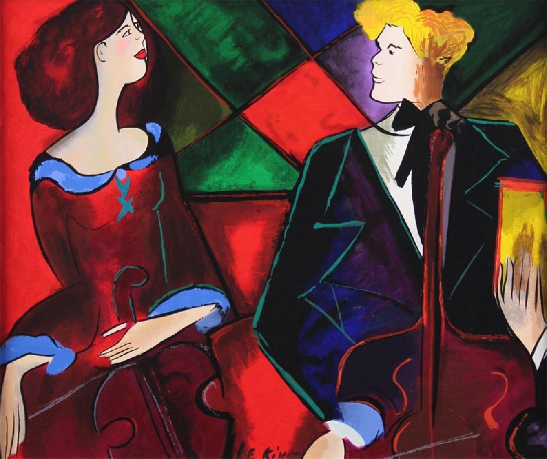 Linda Le Kinff (b. 1949) American (two) - 2