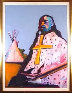 224: Fritz Scholder (1937-2005) American