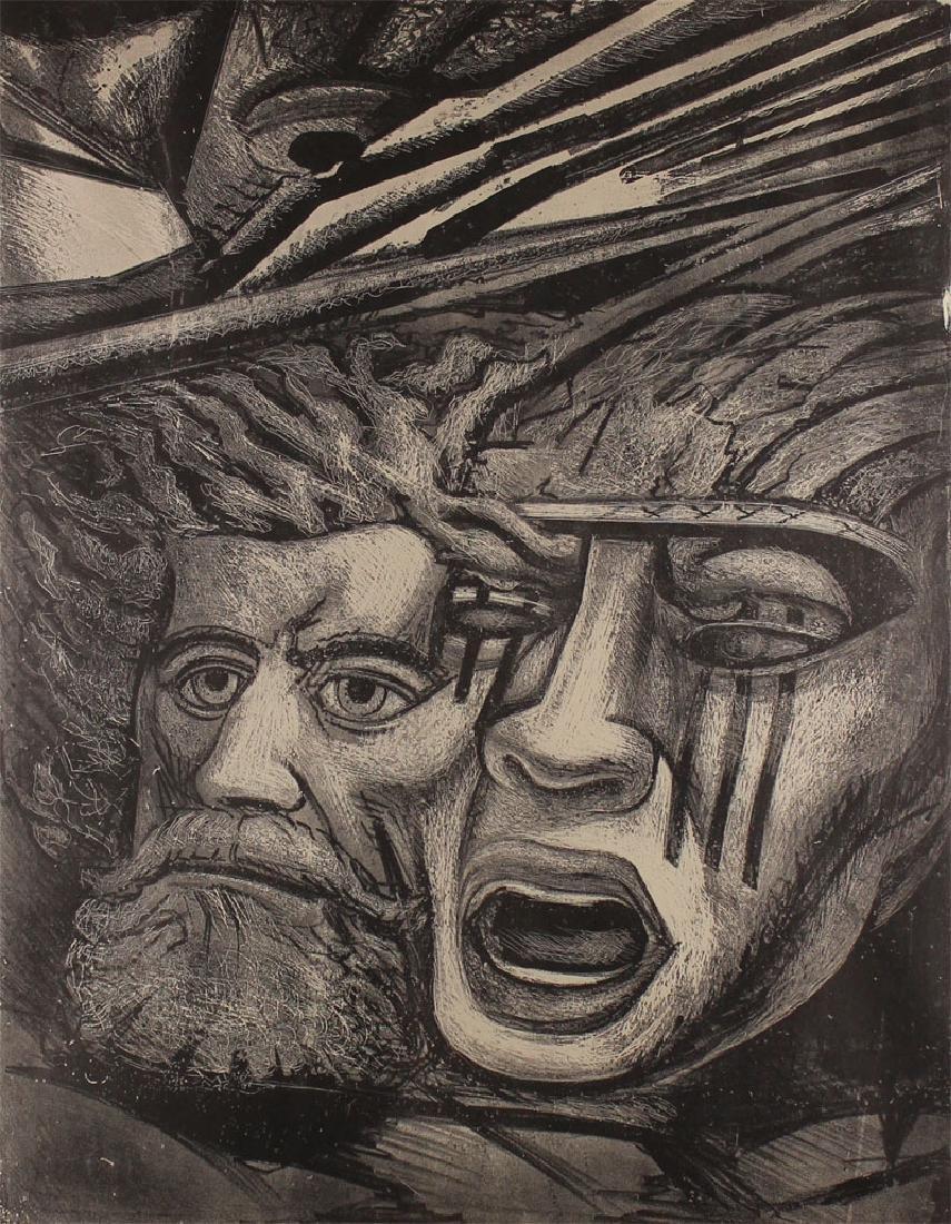 David Siqueiros (1896-1974) Mexican
