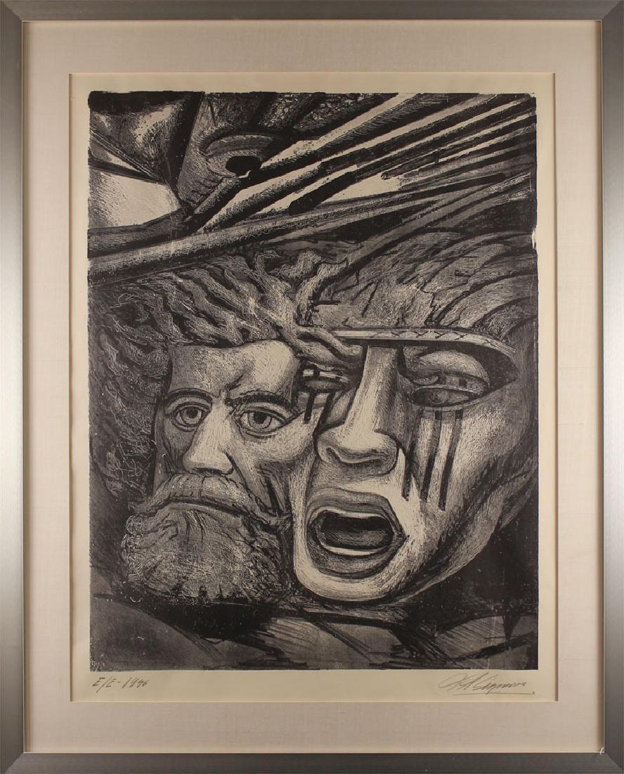 David Siqueiros (1896-1974) Mexican - 2