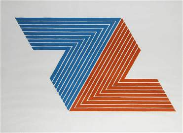 Frank Stella (b. 1936) New York