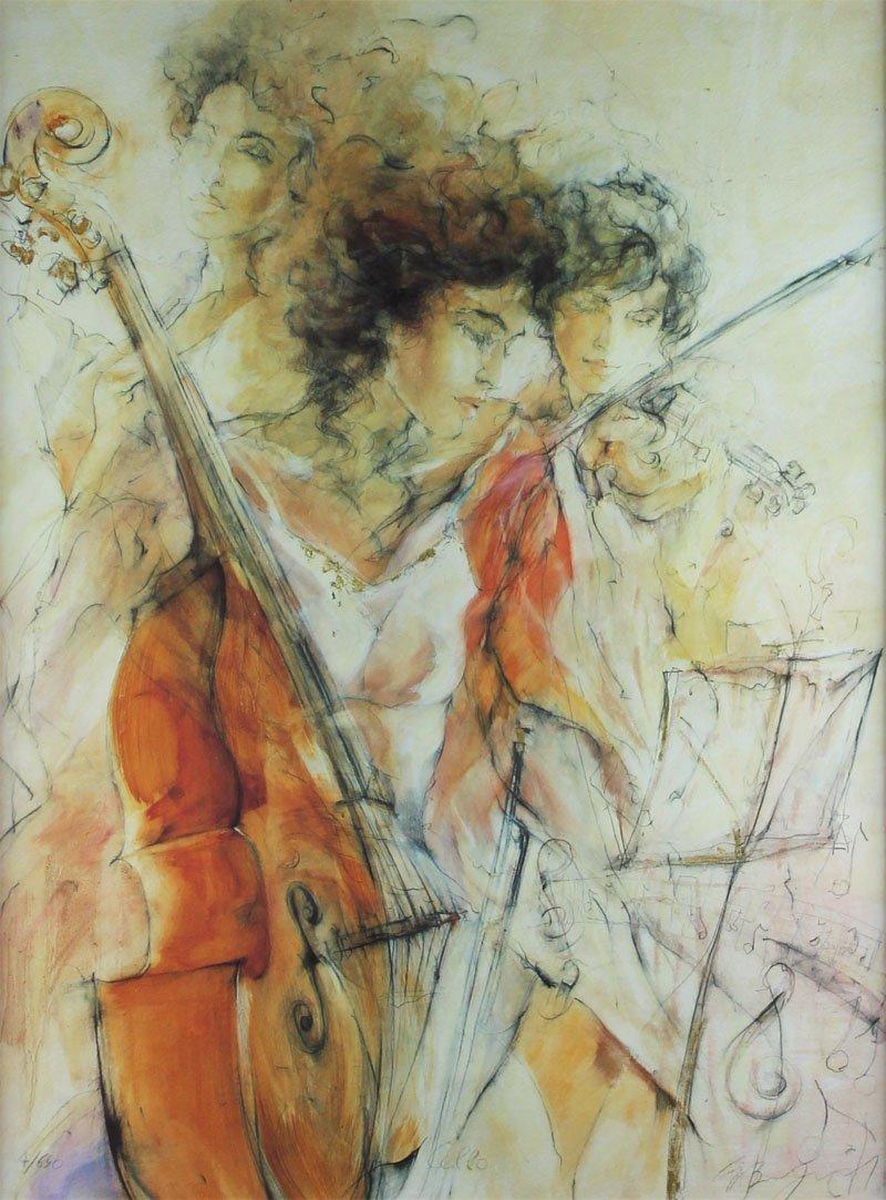 Gary Benfield (b. 1965) British (three) - 6