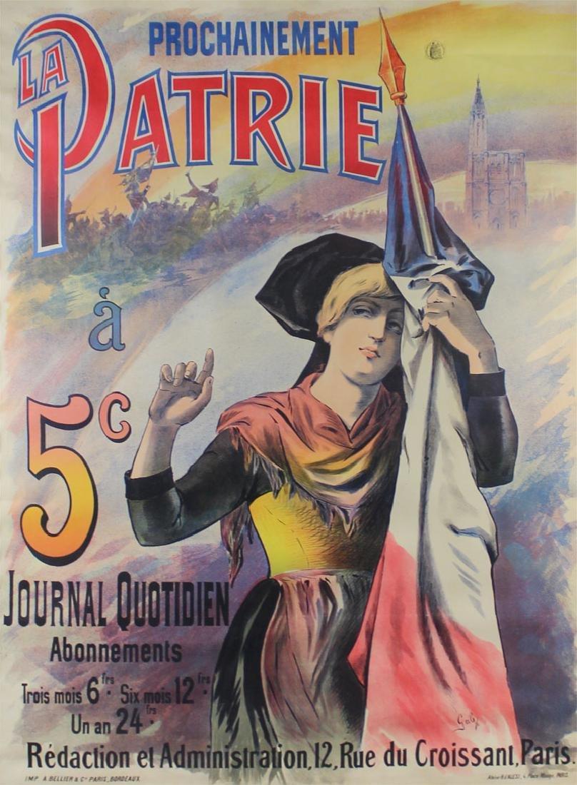 Gab (19th Century) French