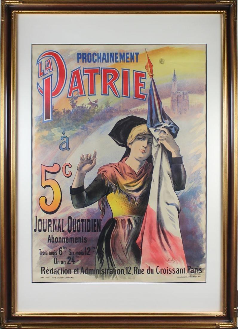 Gab (19th Century) French - 2