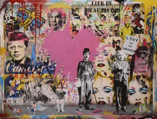 Mr. Brainwash (b. 1966) French