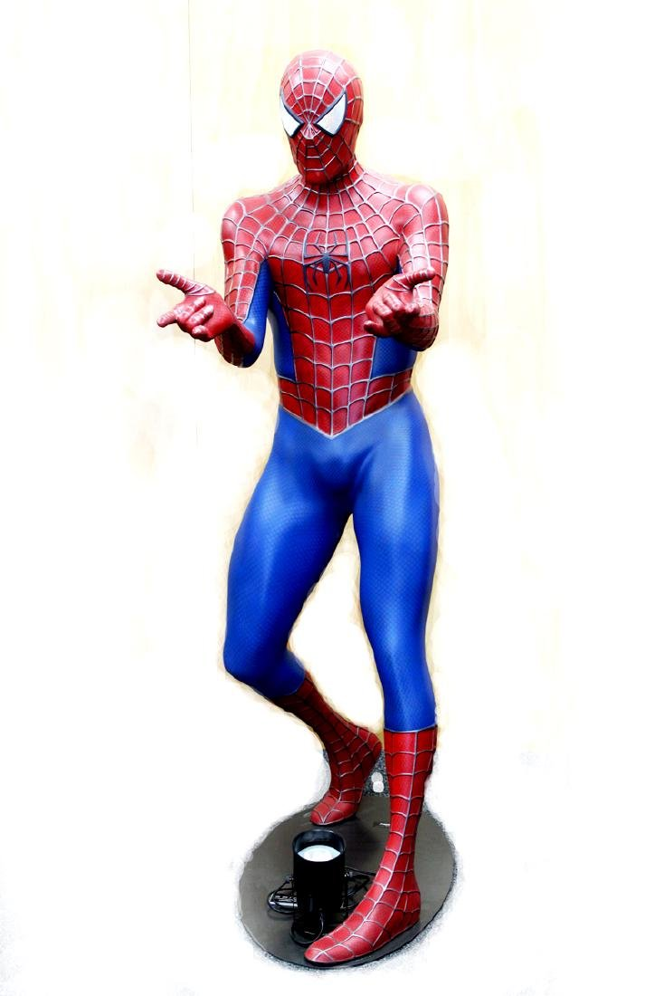 Life Size Action Figure: Spiderman