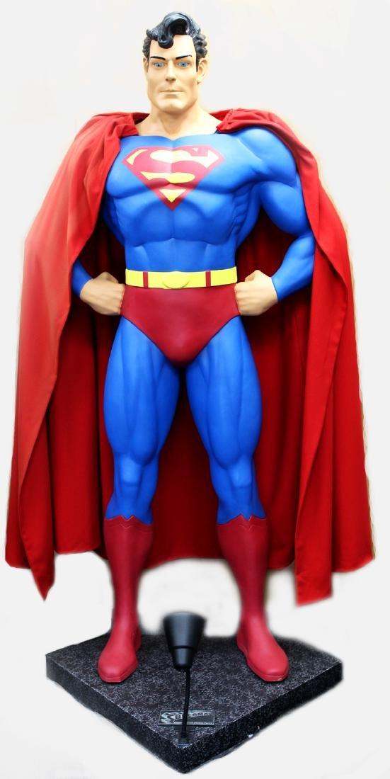Life Size Action Figure: Superman