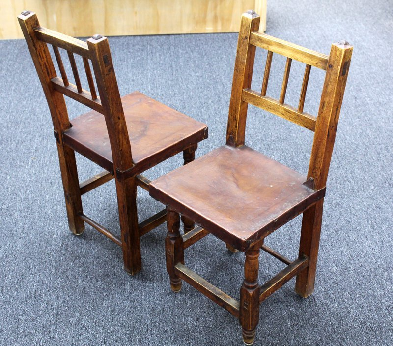 Furniture: Craftsman Style Chairs (two)