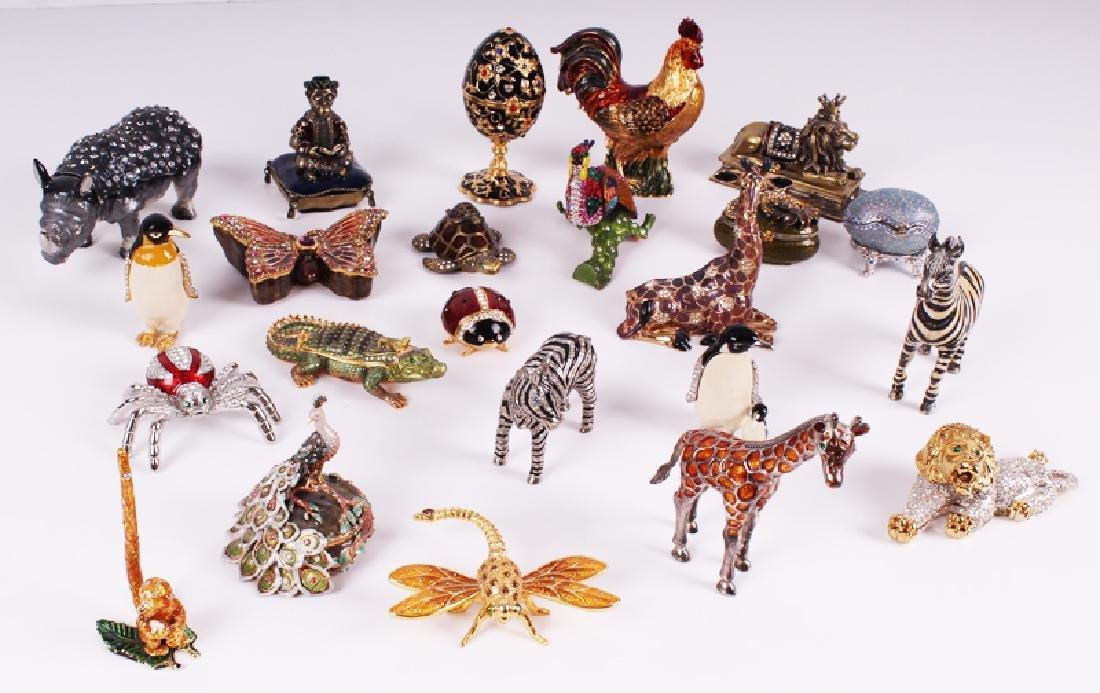 Decorative Miniature Box Collection (twenty-three)